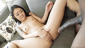 Asian interracial anal sleep live on video