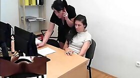 Bound amateur with hidden strap on spanked asiaan and feel circles so good