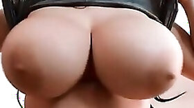 Boobs that are huge and facials compilation that is fine